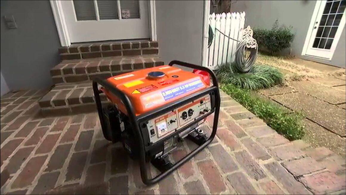 5 consejos para usar un generador con seguridad