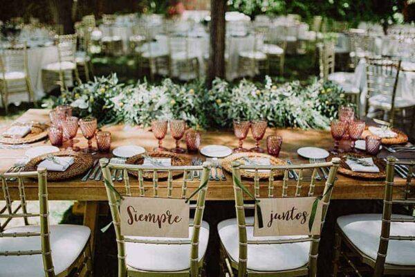 ¿Debería celebrar su boda en una finca?